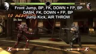 Mortal Kombat Komplete Edition: BASIC COMBOS: Smoke (PC)