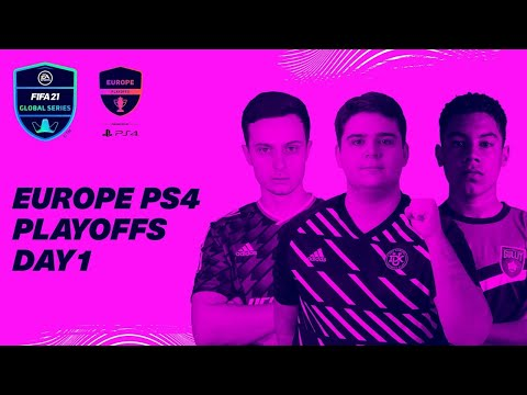 Europe PS4 Playoffs   Day 1   FIFA 21 Global Series