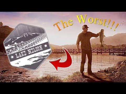 The Worst Lake For Bass!!! Fishing Sim World Pro Tour  