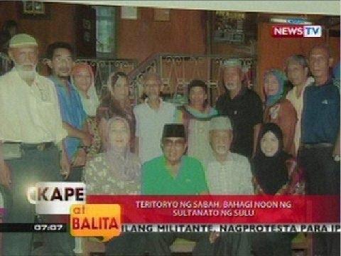 KB: Teritoryo ng Sabah, bahagi noon ng sultanato ng Sulu