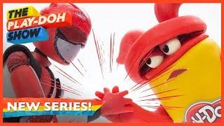 The Play-Doh Show Presents: Mighty Morphin Power Rangers Theme Song Remix Stop Motion Animation