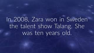 Zara Maria Larsson Facts