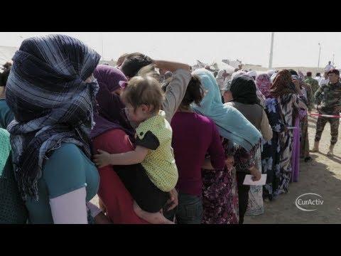 As Syrian refugees reach two million, EU calls for political solution
