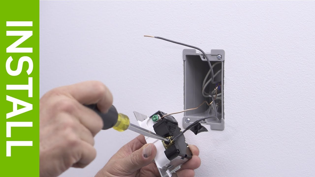 leviton presents how to install tsl06 toggle slide dimmer [ 1280 x 720 Pixel ]