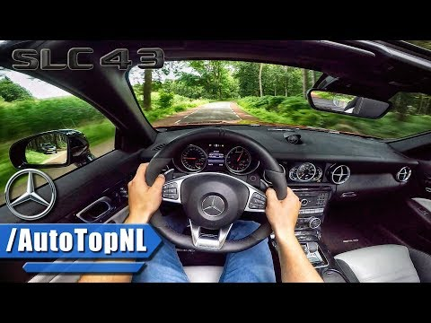 Mercedes AMG SLC 43 3.0 V6 BiTurbo 367HP POV Test Drive by AutoTopNL