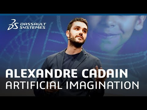 Alexandre Cadain - Artificial Imagination to boost Human Creativity - Meet-Up - Dassault Systèmes