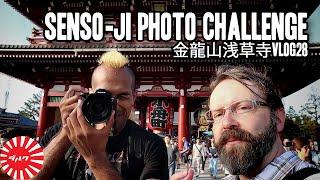 Gambar cover Photo Challenge at Senso-ji Temple with Darcnoodles | Vlog28