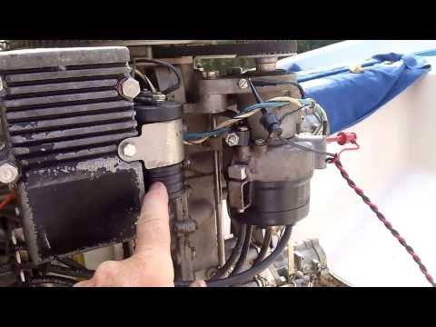 Chrysler outboard setting ignition timing Part 2