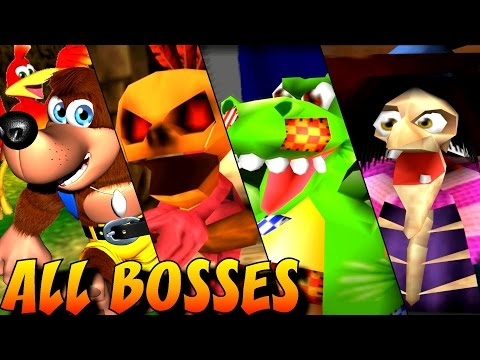 Banjo-Tooie - All Bosses (No Damage)