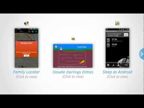 Discovering three android apps for families