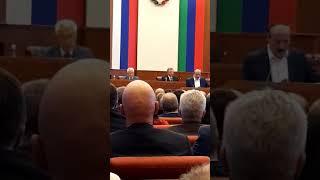 Дагестана Владимир Васильев занял место в президиуме