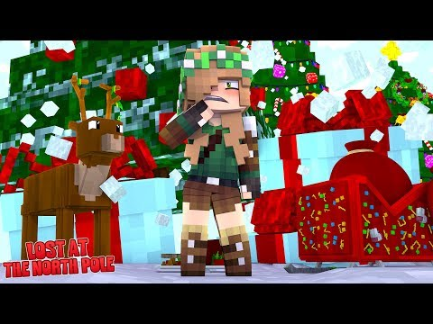 HIDING AS AN ELF IN THE NORTH POLE!  | Minecraft Little Kelly