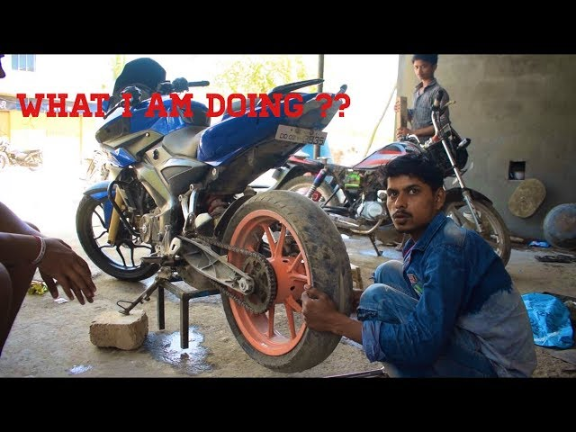 Modified Pulsar 150 AS in india | TravelerBase | Traveling