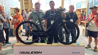 2017 Raleigh Electric Bike Updates from Interbike (Redux iE, Superbe iE)