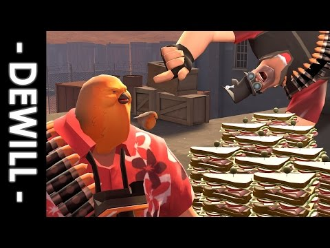 [ TF2 ] Story of the hoovy who really wanted to buy Chicken Kiev