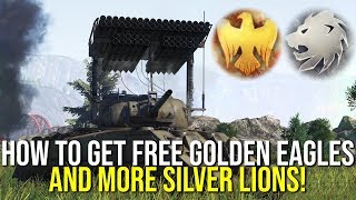 How To Get Free Golden Eagles And More Silver Lions In War Thunder!