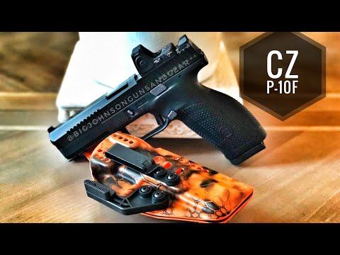 CZ P-10F Optic Ready Full Review vs P10C 💥Range Session💥
