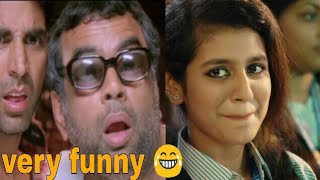 Priya Prakash Varrier Funny Video   Nana - Babu bhaiya   Valentine Day Special   Oru Adaar Love Song