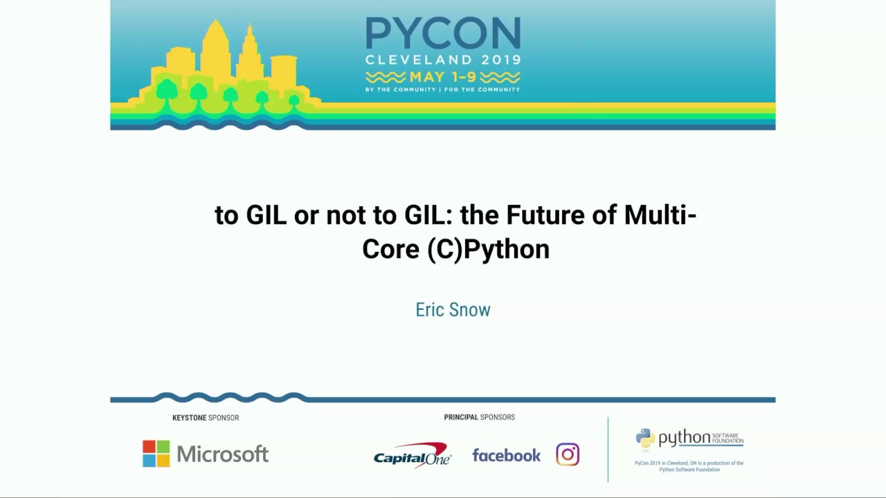 Image from to GIL or not to GIL: the Future of Multi-Core (C)Python