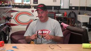 How to tie a crawler harness snell
