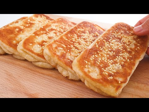 The best tasty is inside!! Easiest way to make puff pastry bread! Simple ingredients! No oven