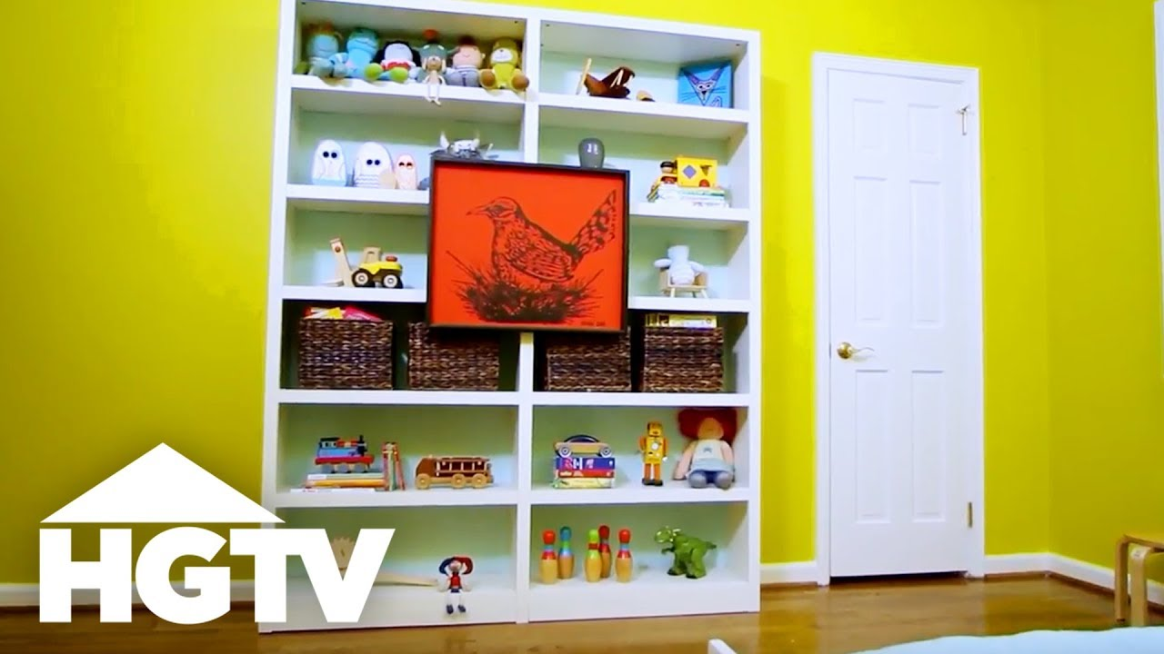 adorable piece and furniture this it bookshelf paint used of sprayer so yellow simple to makeover she a
