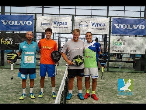 Vamos Pádel. Final Javi Limones y Ernesto Moreno y Daniel Avilés y Sergio Beracierto. ABS Andaluz
