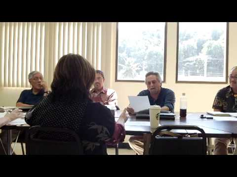 December 6th, 2013; Guam Board of Allied Health Examiner's Public Meeting