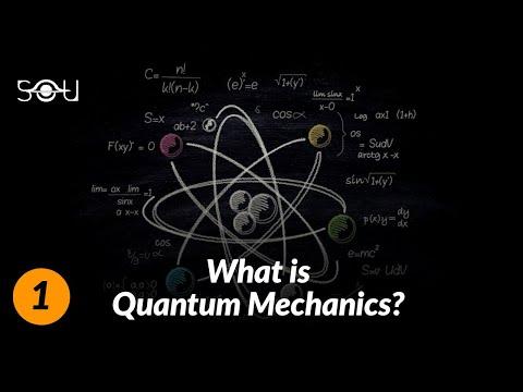 What Is Quantum Mechanics & How's It Different From Classical Mechanics?   Quantum Physics Lectures