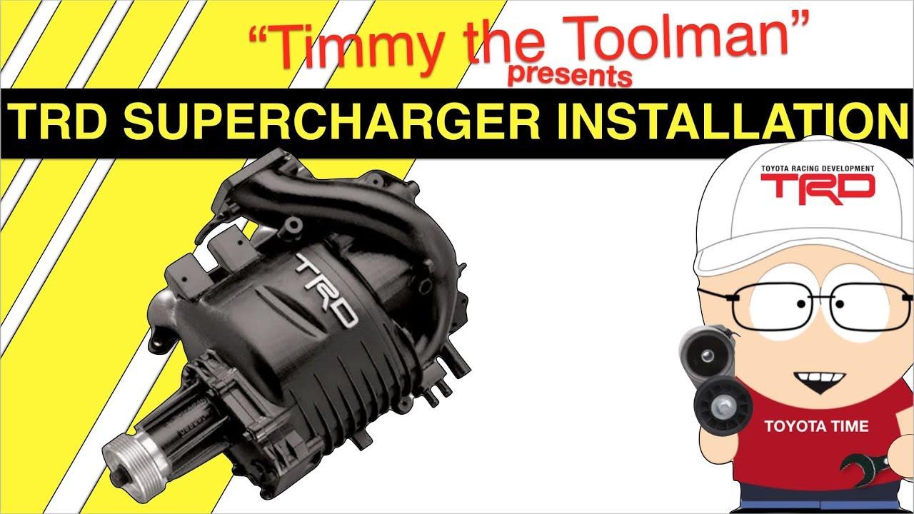 TRD SUPERCHARGER BELT PTR30-35040 TACOMA 4RUNNER TUNDRA 3.4 V6 GENUINE  OEM NEW