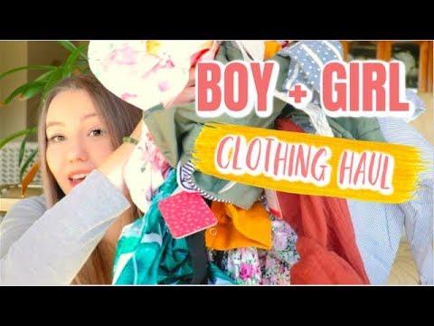 6fe78fb7963 Boy + Girl Baby Clothing Haul