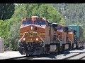 Amazing action in Flagstaff, AZ on the BNSF Seligman Subdivision + Foreign power