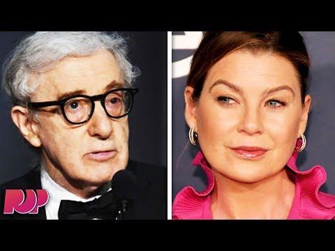 """""""Grey's Anatomy"""" Star Ellen Pompeo Blasts Woody Allen"""