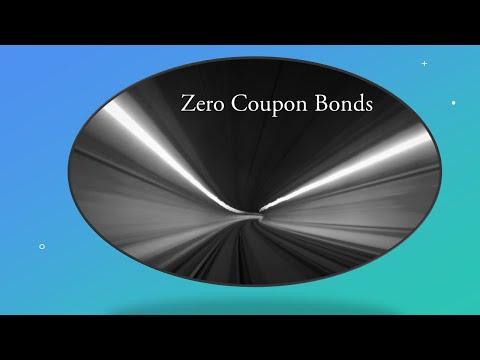 Return Of Zero Coupon Bond.  Yield To Maturity Of Zero Coupon Bond