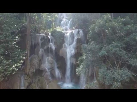 Arial Drone Footage Laos, South east Asia
