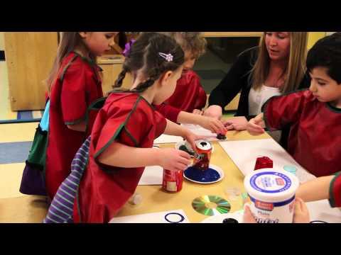 Pre-Kindergarten Art Activity At Bright Horizons
