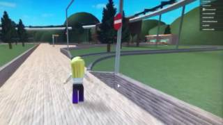 Theme park hide land in ROBLOX