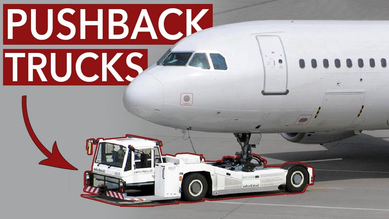 aircraft pushback why is it necessary youtube