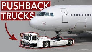 Aircraft pushback, why is it necessary?
