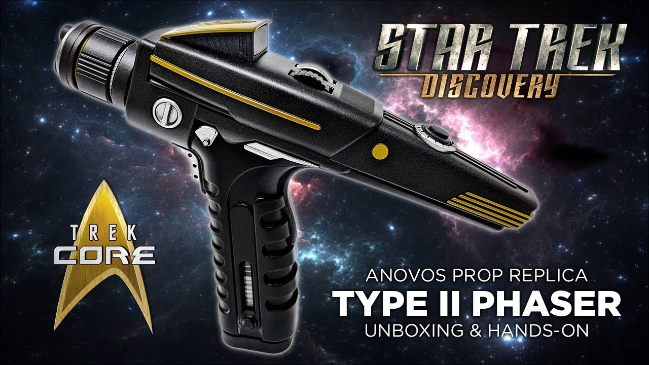 Unboxing & Review -- STAR TREK: DISCOVERY Type II Phaser Prop Replica  (ANOVOS)