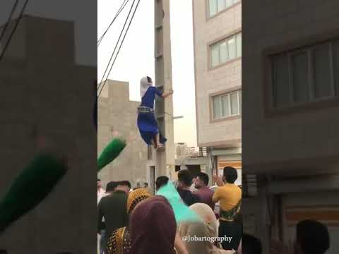 Baghdad Azz Up- Iranian Woman Dancing to Back That Azz Up by Juvenile
