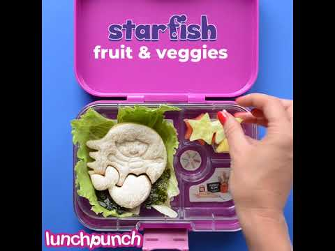 Lunch Punch Mermaid Sandwich Cutters