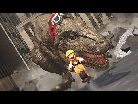 Super Mario Odyssey - Dinosaur Attack! - Part 10