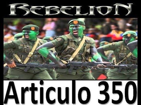 REBELION MILITAR CONTRA EL DICTADOR  MADURO