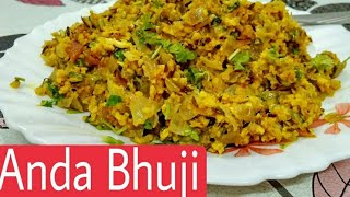 ANDA BHUJI || A Special and Delicious Recipe of anda bhuji by *zaika-e-Lucknow*