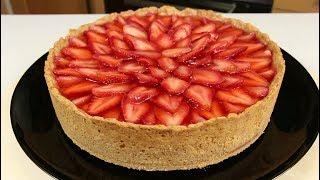 ХОЧЕТСЯ ЕЩЕ И ЕЩЕ КУСОЧЕК!!!! Пирог с Творогом и Клубникой - Это Невероятно Красиво и Вкусно!