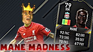 #10 SO MANY DEFLECTIONS | MANE MADNESS (FIFA 17 Ultimate Team)