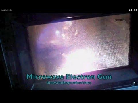 Microwaved Electron Gun