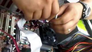 instalación de memoria RAM y cable IDE Jose Lopez