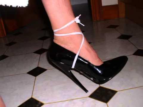 In high heels Bondage